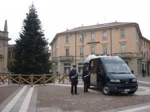 carabinieri piazza albero di natale