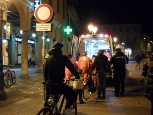ambulanza centro notte