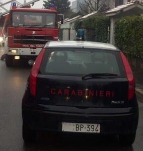 incedio villetta pompieri carabinieri (1)