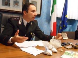 sequestro droga Cislago carabinieri