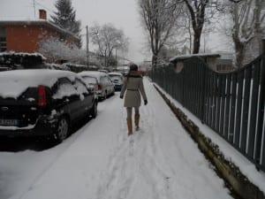 neve giorno nevicata