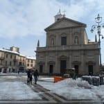 neve spazzaneve piazza libertà