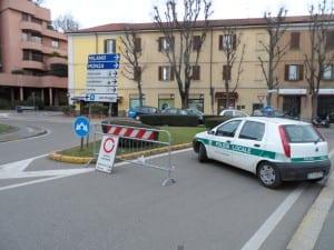 polizia locale blocco traffico domenica a piedi senz'auto (7)