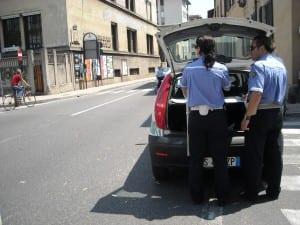 sar - incidente polizia locale
