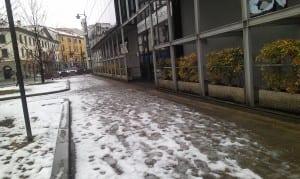 saronno neve marciapiedi comune
