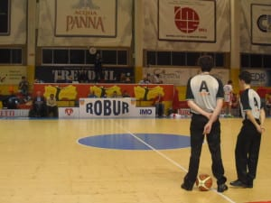 Robur Basket Freestation Saronno arbitri