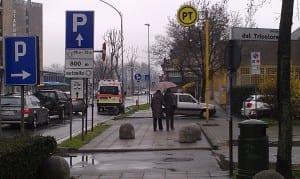 ambulanza alle Poste centrali