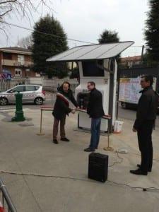 inaugurazione casetta acqua gerenzano