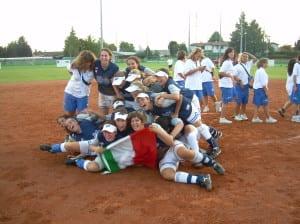 italia giovani softball