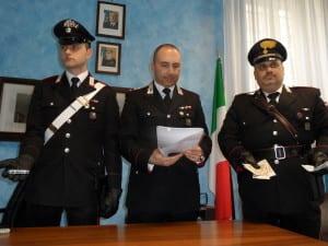 carabinieri conferenza stampa cislago