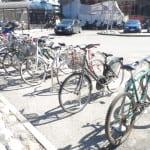 biciclette parcheggio dietro stazione sole