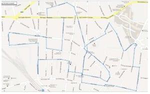 percorso running