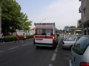 ambulanza cri saronno
