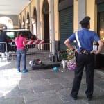 Rilievi del Ris Parma per omicidio Granomelli