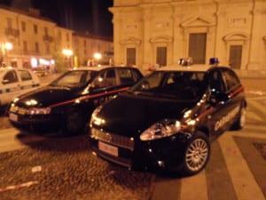 carabinieri notte piazza Libertà