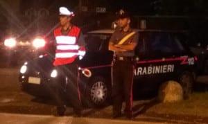 carabinieri notte incidente posto di blocco saronno