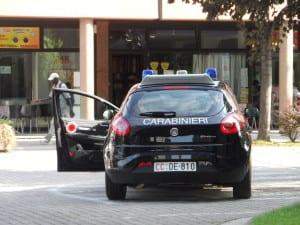 carabinieri pattuglia via Ferrari (2)