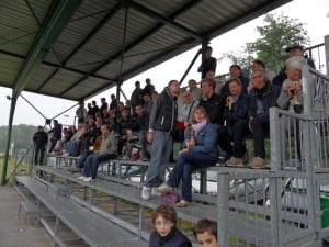 amor sportiva campo via Trento spalti tribuna