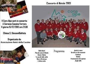 Volantino Cassina Ferrara 15-12-203
