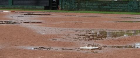 softball campo allagato