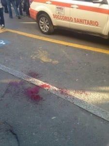 04052014 sangue piazza cadorna