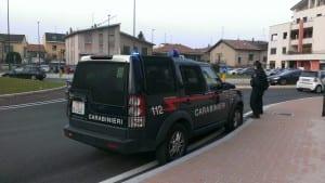 carabinieri gerenzano posto di blocco