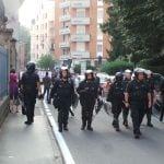 27092014 corteo contro sgombero telos forze dell'ordine (11)