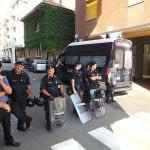 27092014 corteo contro sgombero telos forze dell'ordine (5)