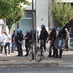 27092014 corteo contro sgombero telos forze dell'ordine (7)