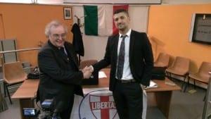 Angelo Sandri Dc con Luciano Silighini