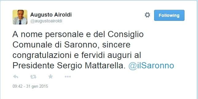 airoldi twitter presidente