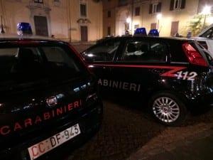 carabinieri notte pattuglia
