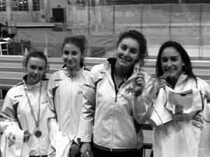 genova - campionesse regionali indoor