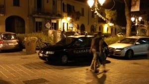 carabinieri notte piazza rinoscenza centro san cristoforo