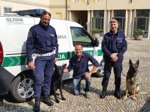 unità cinofila polizia locale