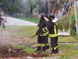 03102015 incendio via gorizia (5) vvf pompieri
