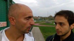 Luca Petrone con Giuseppe Anselmo