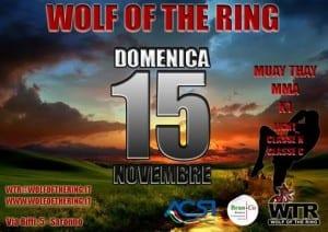 wolf of the ring locandina
