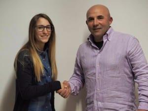Sara Cozzi con Davide Soldi