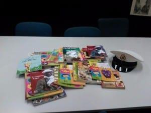 sequestro libri polizia locale