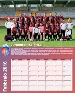 calendario caronnese 2016