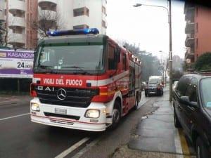 pompieri vigili del fuoco saronno via miola