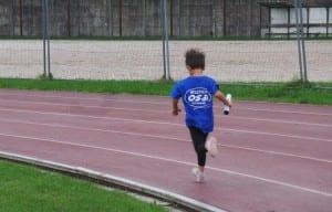 piccolo OSA che corre