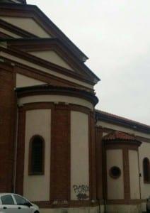 solaro bestemmia chiesa