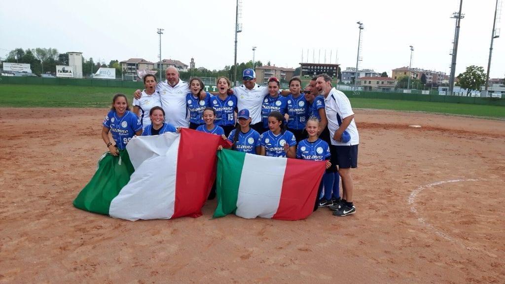 softball-saronno-cadette-campione-ditalia