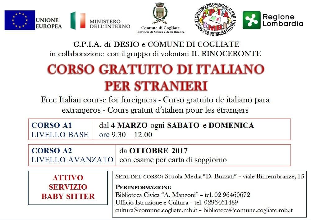 Il Rinoceronte che insegna italiano agli stranieri | ilSaronno