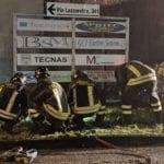 20200217 fuga gas caronno pertusella vigili del fuoco notte (2)