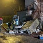 20200217 fuga gas caronno pertusella vigili del fuoco notte (5)