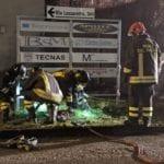20200217 fuga gas caronno pertusella vigili del fuoco notte (6)