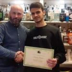 diploma corso barman